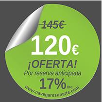 Precio licencia de navegación 120 euros